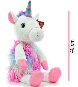 Peluche Unicornio Sentado 40cm