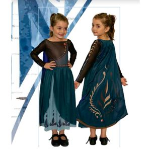 Disfraz Anna Frozen 2 Talle 0  Licencia Original
