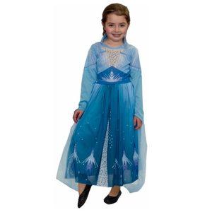 Disfraz Elsa Frozen Vestido Talle 1,2 Original