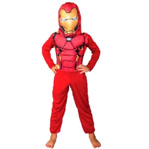 Disfraz Iron Man Talle 1 Con Musculos