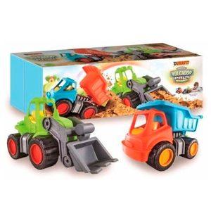 Duravit Set Camion Volcador/pala Mecanica Excavadora Niños