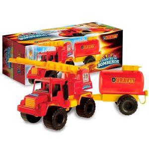 Set Camion Bomberos + Tanque Duravit