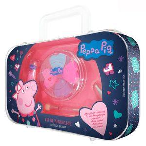 Kit Mini Valija Maquillaje Cremoso Infantil Peppa Pig