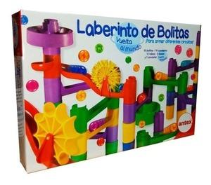 Laberinto De Bolitas Vuelta al Mundo Original Juego De Mesa Antex