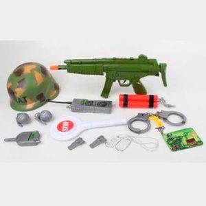 Set Equipamento Militar Accesorios SWAT para Niños