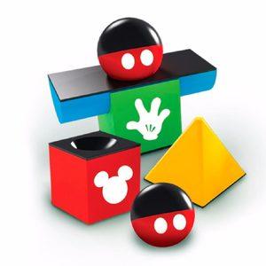 Bimbi Bloques Apilables Mickey Sonajeros 10 Piezas Original