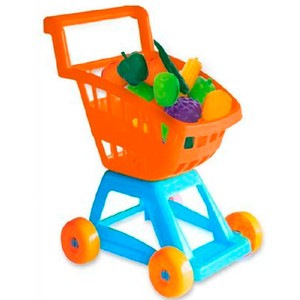 Carrito de Compras Supermercado Duravit + Verduras
