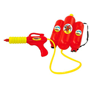 Pistola de Agua con Mochila Cargador