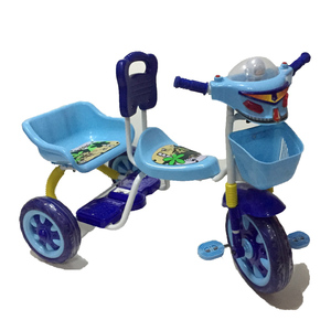 Triciclo Budada + Canasto + Tablero Musical + Doble Asiento