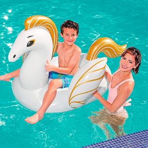 Colchoneta Inflable Pegasus 150x109cm con Asas Bestway