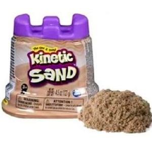 Arena Magica Kinetic Sand Molde Castillo 127g