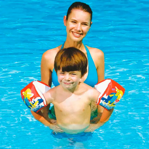 Bracitos Salvavidas Inflables Bestway Tortuga Surf 3- 6 Años