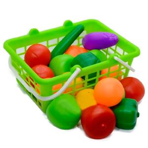 Set Canasta Super Frutas y Verduras Duravit 20 Piezas