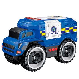 Camion Policia a Fricción Luz Sonido Abre Ventanillas