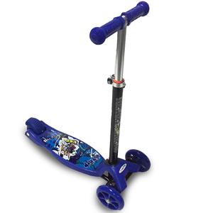 Monopatin Scooter 3 Alturas Anti Vuelco Estructura Caño