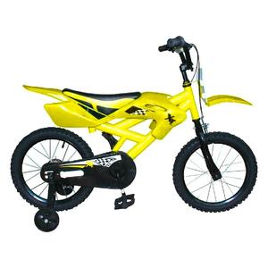 Bicicleta Rodado 12 Tipo Moto de Acero con Carroceria