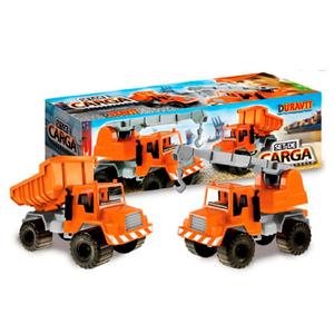 Set de Carga Duravit Camion Volcador y Guinche