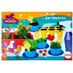 Set Jardineria Antex Con Mis Manos Huerta paso a paso la germinación de plantas y plantines.