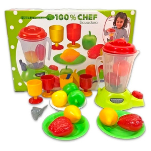 Set 100% Chef Antex Licuadora Frutas + Copas