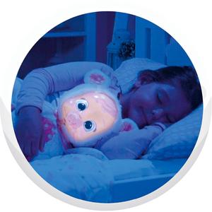 Muñeca Cry Babies Coney Good Night Luminosa Canción de Cuna