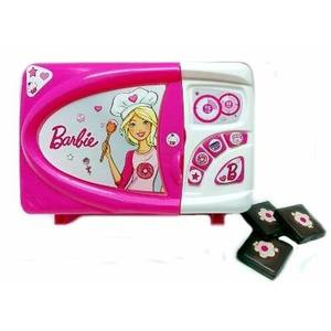 Barbie Microondas Glam + Sonido + Accesorios
