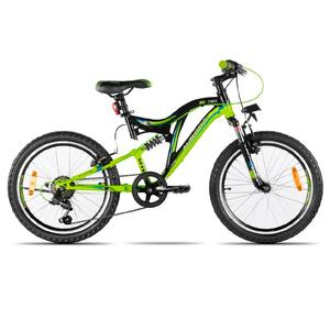 Bicicleta Aurora DSX Rod 20 Cambios Shimano Suspensión