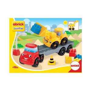 Abrick Camion + Maquina Armables + Bloques Antex