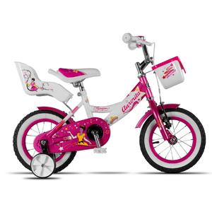 Bicicleta Aurorita Princesa Rod 12 Canasto + Portamuñeca