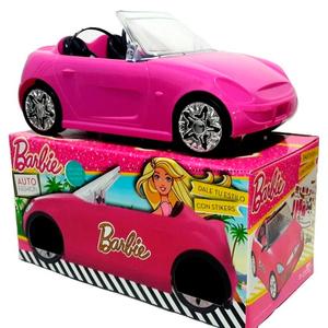 Auto Convertible Barbie con stickers