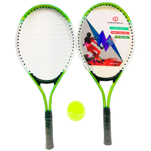 Set 2 Raquetas de Tenis 1 Pelota + Funda de Regalo