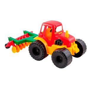 Tractor Agricola con Arado Duravit