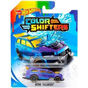 Autos Hot Wheels Colour Shifters x1 Cambian Agua Original