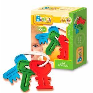 Juguete Bebe Llaves Mordillo Bimbi