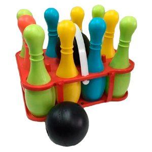 Set Juego de Bowling Duravit 10 Pinos 2 Pelotas + Transportador