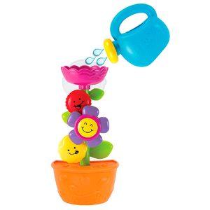 Juguete Flor con Regadera Para Baño con Sopapas