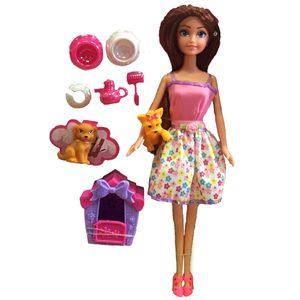 Sasa Girls Cuida a su Mascota + Casita y Accesorios