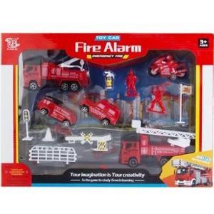 Set Bomberos Grande  Fire Alarm Autos Motos Camiones Emergency Fire