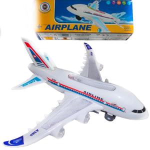 Avión con Movimiento Luces y Sonido 23cm