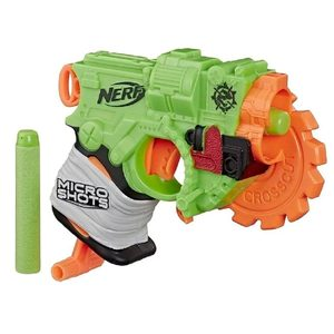 Pistola Nerf Micro Shoots Crosscut 2 Dardos Original