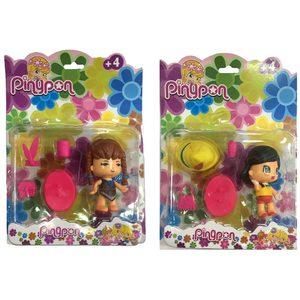 Muñecas Pinypon + Accesorios 10cm