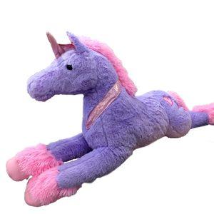 Peluche Unicornio Grande Extra Suave 85cm