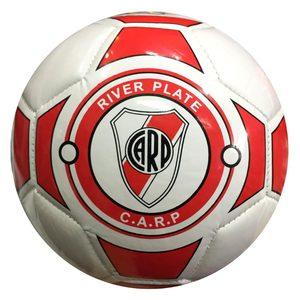 Pelota Futbol Numero 2 River Blanca