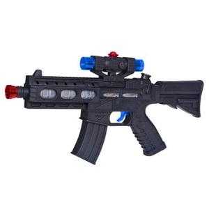Fusil Juguete Luz Sonido y Vibración 40cm