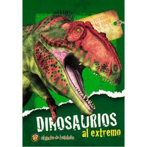 Libro Dinosaurios al Extremo Tipos y Descripción de Diferentes Especies