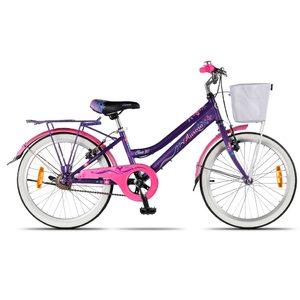 Bicicleta Aurorita Rod 20 Ona Canasto Guardabarros