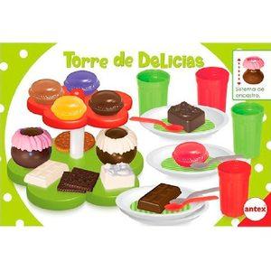 Set Torre de Delicias Encastre Postres Antex