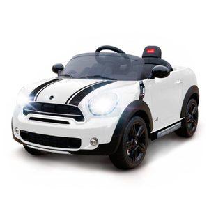 Auto A Batería 12V Modelo Mini Cooper Original Mp3 + Luces
