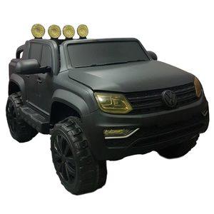 Camioneta VW Amarok 12v 1 o 2 Niños + Asiento de Cuero + Control + Usb Mp3 Sd Radio