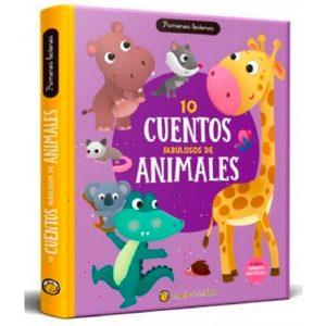 Libro 10 Cuentos Fabulosos de Animales Tapa Dura