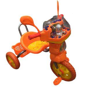 Triciclo a Pedal Ruedas de Goma Luz y Sonido